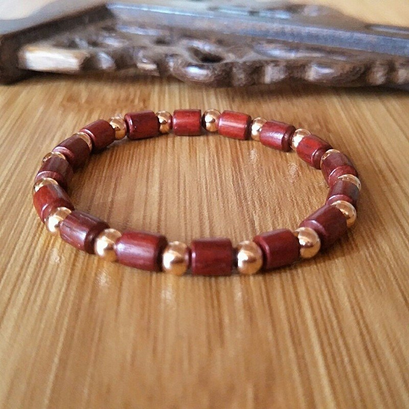 Suan wood couple bracelet - no trace