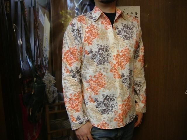 Long-sleeved shirt Japanese Pattern (pedicel)