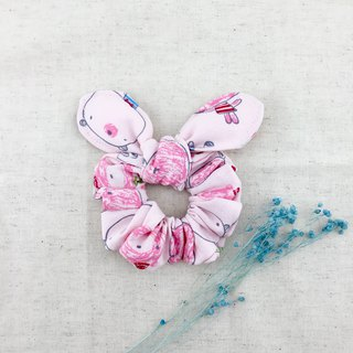 Pink bear rabbit treasure - donut butterfly hair bundle - plus the wings of a cute butterfly