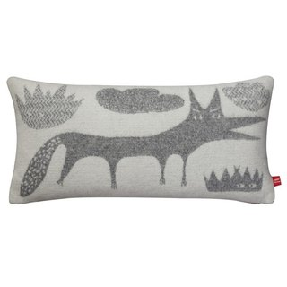 Wolf pure wool pillow | Donna Wilson