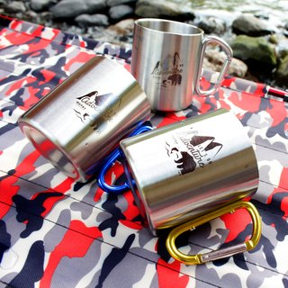 Wilderness Grizzly Double Insulation Stainless Steel Cup Three Enter