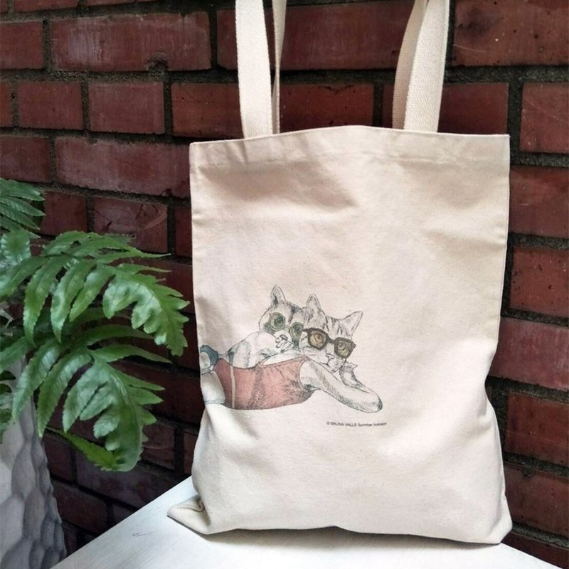 Bologna 50th Anniversary Illustration - Summer Vacation - Canvas Bag
