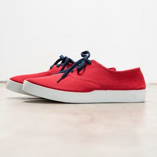 OLI13 Oxford OXFORD- Red and White Canvas Shoes │ Men's and Women's Shoes