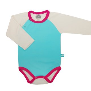SanBelle Baby Bodysuit★SkinProtection★0-12m Calypso×Cream