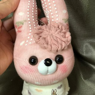 Xiao Meng rabbit 05 socks doll strap / current product / Martin hand-made