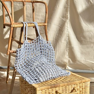 Pastel Blue Nagridia Crochet Bag