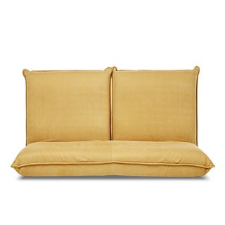 AJ2 │ small │ mustard yellow │ double sofa and room chair