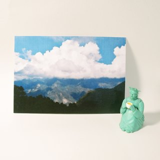 Quietly draw cool card / multifunctional storage postcard / Mount Wutai