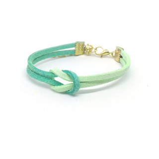 Handmade Simple Stylish Bracelets Rose Gold Series–mint green limited