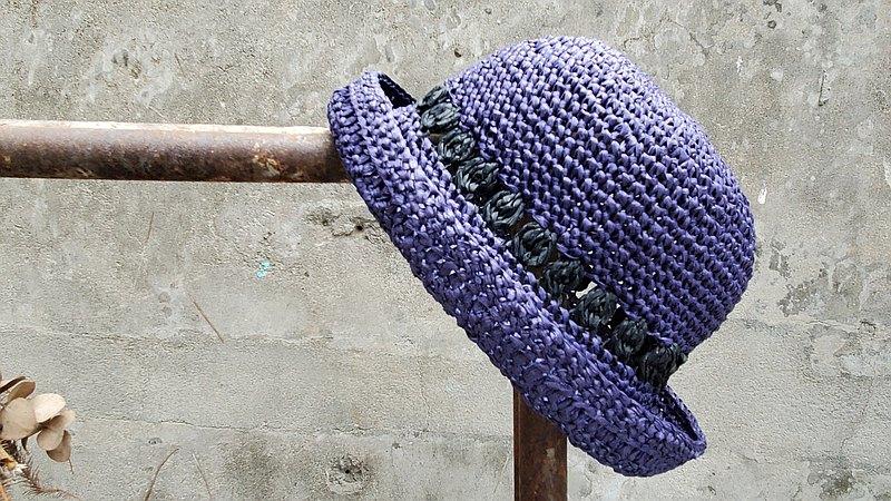 手織草帽-隕石