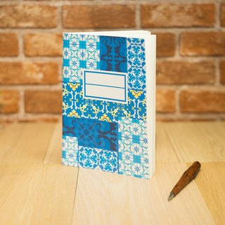 Macao Featured Series notebook - Portuguese tiles Notebook Stationery
