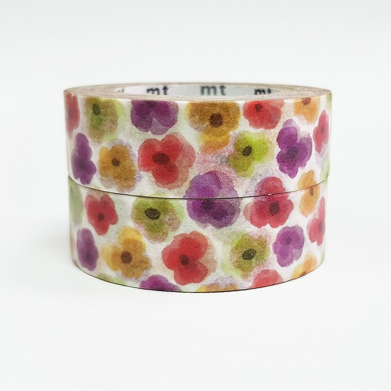 KAMOI mt ex Masking Tape【Pansy (MTEX1P149) / 2-roll Set】