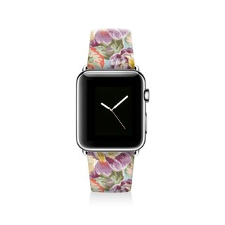 Floral Apple watch band, Decouart Apple watch strap S008 (including adapter)