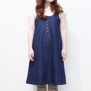 ☆ Palette ☆ 彡 Chilla Ribbon Denim One Piece