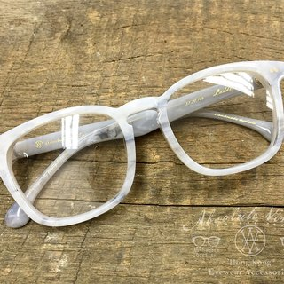 Absolute Vintage - Ladder Street (Ladder Street) rectangular frame plate glasses Young - White White