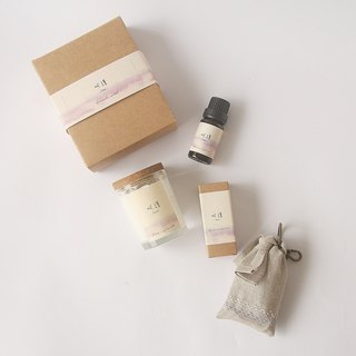 Anniversary Lucky Bag Goody Bag - Soy Candle + Herbal Essential Oil + Fragrance Bag