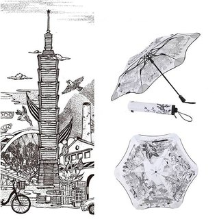 New Zealand-Paulant BLUNT X TAIPEI Limited Edition Folding Umbrella (Rising Sun)