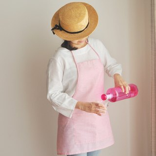Linen Apron Summer Collection ♡ Summer Rose Pink