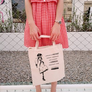Illustrator / MilkHoney-Proverbs 24.23 Venturi Style Canvas Bag