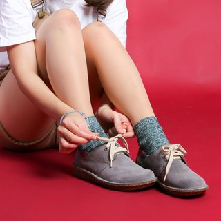 Japanese sweet suede shoes _ volcanic ash