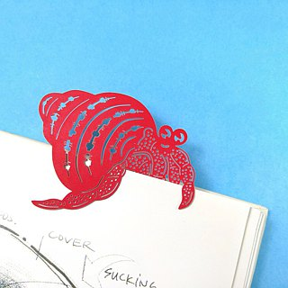 MARK TAIWAN Mai Mai Zoo - Hermit Crab (Paper Bookmark)