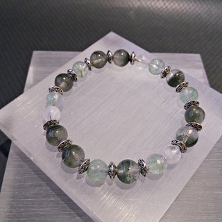 Career Line - Green Ghost + White Ghost + Cui Ghost Sterling Silver Bracelet