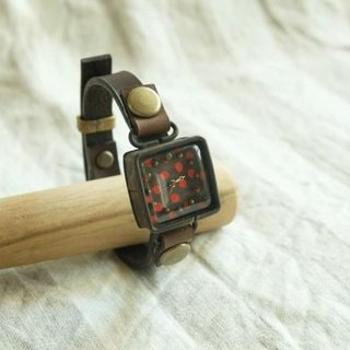 Timely watch r-dot brown n S003