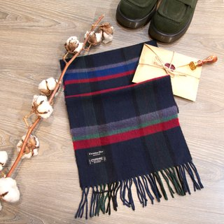 Back to Green :: Christian Dior MADE IN JAPAN Cashmaire 100% vintage scarf (SSC-02)