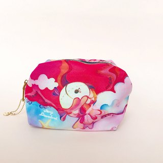 Amy's universal cosmetic bag travel bag x large-capacity underwater world
