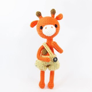 Giraffe - ornaments - dolls