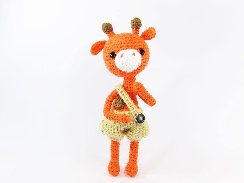 長頸鹿-擺飾-玩偶