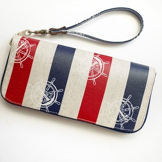sailor. Waterproof long clip / wallet / purse / purse