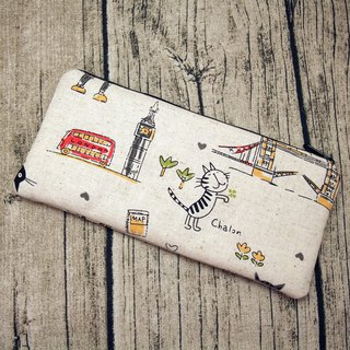 Large Zipper Pouch, Pencil Pouch, Gadget Bag, Cosmetic Bag (ZL-40)