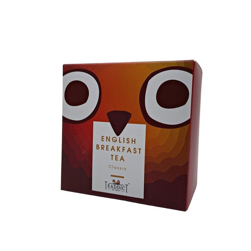 英式早餐茶 (原片) -TEADDICT 三角茶包 (1.5克X15包)