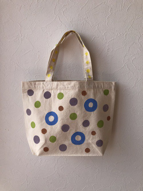 koruri × colore tote bag with brooch ①