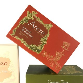 Arezo English Breakfast Tea (SGS European Standard) 20 teabags