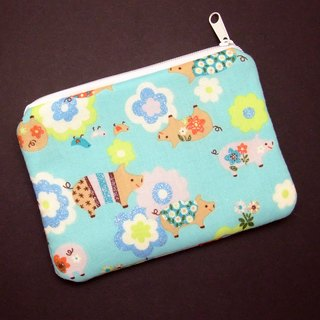 Zipper pouch / coin purse (padded) (ZS-189)