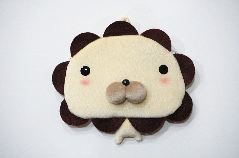 Bucute Sunflower Lion Bags Wallet / Swim Card Holder / Card Holder / Exclusive Offer / Handmade / Exchange Gift / Coin Purse