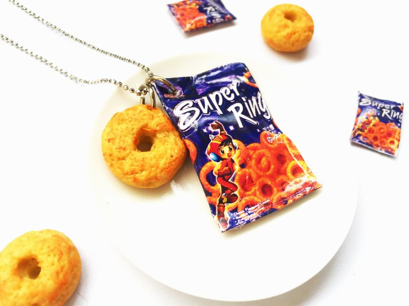 Super Ring Necklace