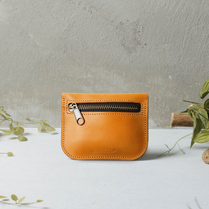 【icleaXbag】Leather Compact Wallet DG51