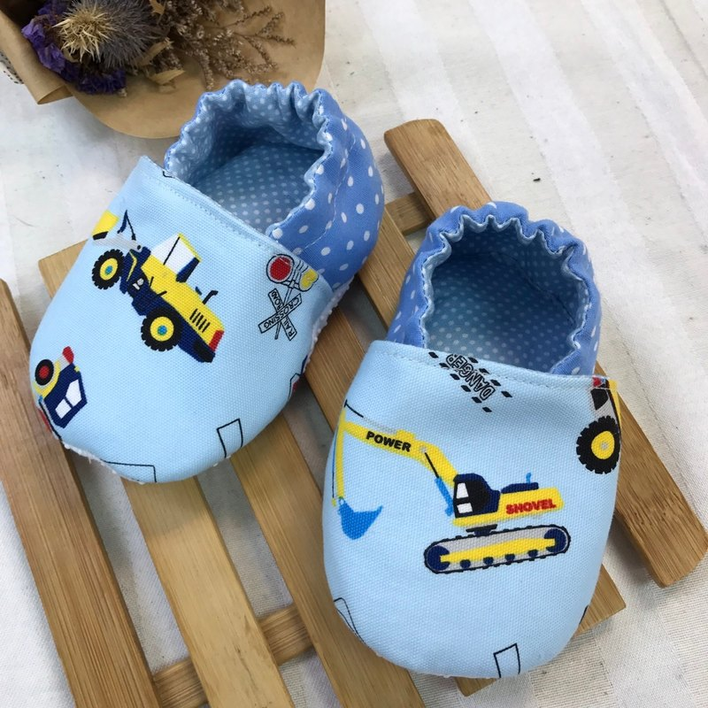 Excavator - school footwear baby shoes
