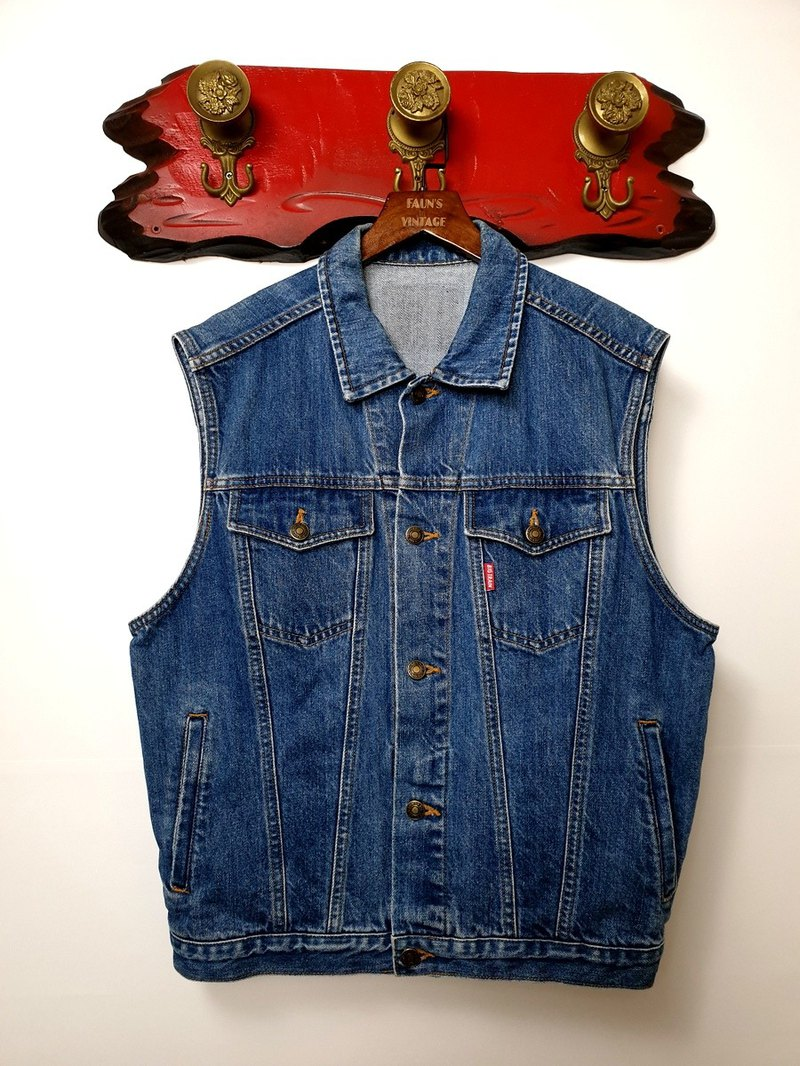 小龟葛葛-BIG TRAIN Classic Heavy Denning Vintage Vest