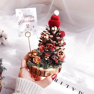 WANYI Christmas DIY Christmas Tree Dry Flower / Exchange Gift / Christmas Ceremony