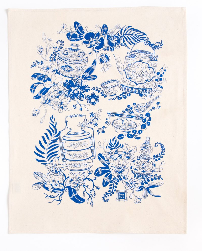 Tea Towel Porcelain