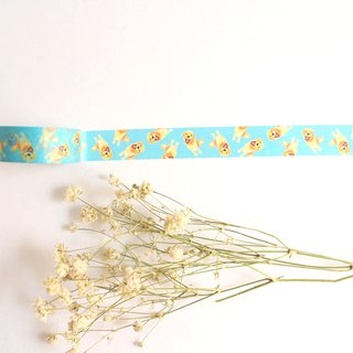 Kiki Golden Retriever Masking Tape/ Washi Tape