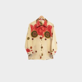 Dislocation Vintage / Floral Print Shirt no.129 vintage