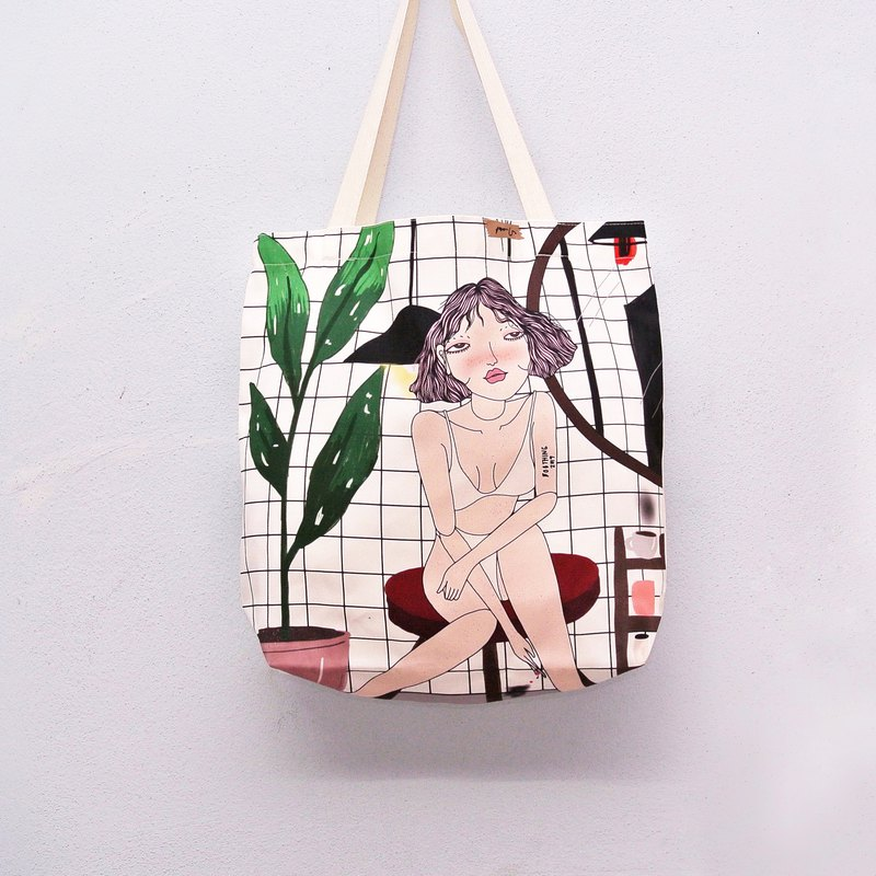 Tote Bag Lost in Summer