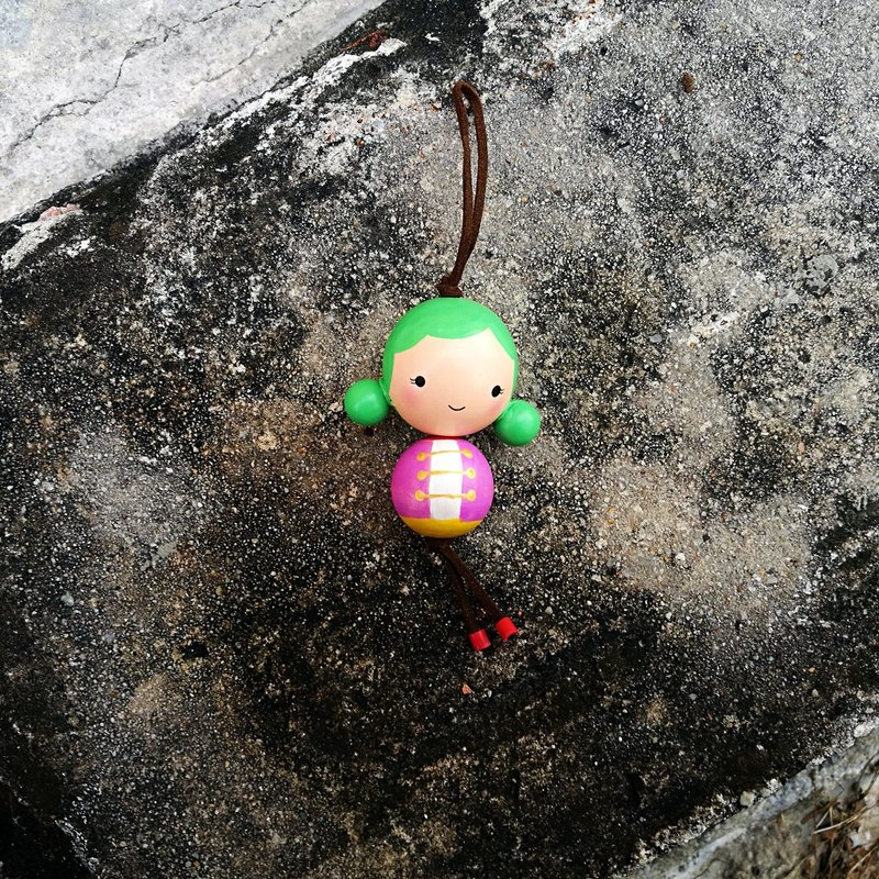 [Lele] handmade wooden beads doll - unique - delicate and lovely