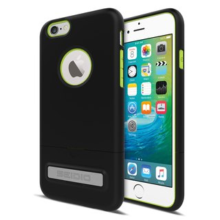 City Fashion Two-tone Cover / Case for iPhone 6 (s) Plus - Yuppi Black (Black Green) -SURFACE Collection
