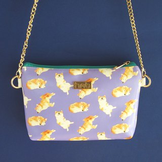Kelly Shiba Inu Cross Body Clutch Bag